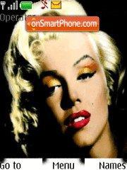 Скриншот темы Marilyn Monroe