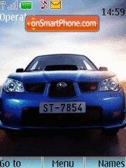 Subaru Impreza WRX STI theme screenshot