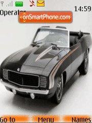 Chevrolet Camaro 1968 theme screenshot