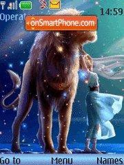 Zodiac Sign Leo tema screenshot
