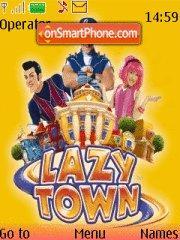 Lazy Town tema screenshot