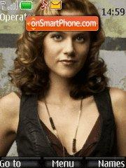Hilarie Burton theme screenshot