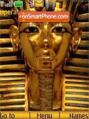Capture d'écran Egypt thème