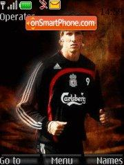 Fernando Torres theme screenshot