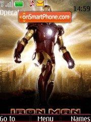Capture d'écran Iron Man thème