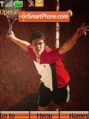 Tennis tema screenshot