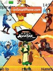 Скриншот темы Avatar