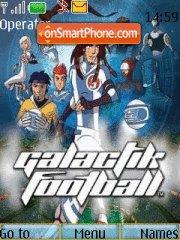 Galactik Football theme screenshot