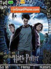 Harry potter and the prisoner of azkaban tema screenshot