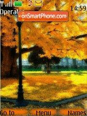 Mellow Autumn es el tema de pantalla