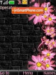 Pink Flowers es el tema de pantalla