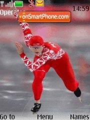 Skating Sports theme screenshot