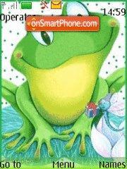 Скриншот темы Frog