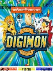 Digimons theme screenshot