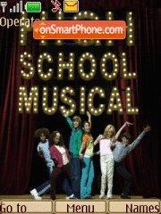 High School Musical theme screenshot