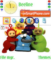 Teletubbies theme screenshot