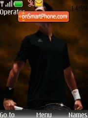 Novak Djokovic theme screenshot