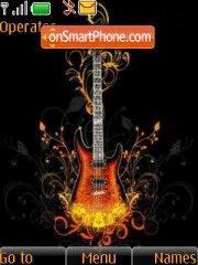 Electric Guitar theme screenshot
