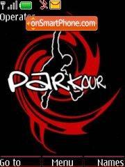 Parkour theme screenshot