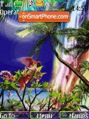 Paradise es el tema de pantalla