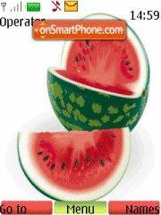 Скриншот темы Water Melon