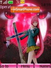 Rosario + Vampire theme screenshot