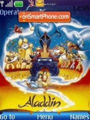 Aladdin es el tema de pantalla