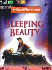 Sleeping Beauty theme screenshot