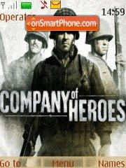 Company of Heroes theme screenshot