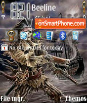 Скриншот темы Pirate Skoodo