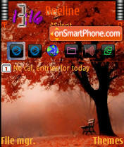 Red Tree theme screenshot