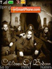 Children Of Bodom es el tema de pantalla