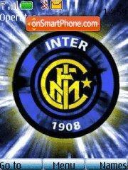 Inter Milan theme screenshot