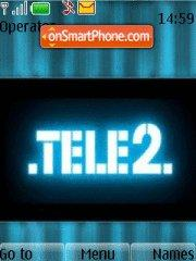TELE2 theme screenshot