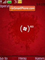 Red theme screenshot