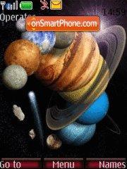 Solar System tema screenshot