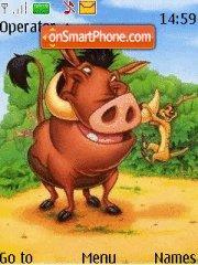 Скриншот темы Timon & Pumba
