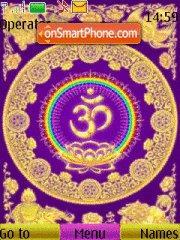 Ashtanga Yoga theme screenshot