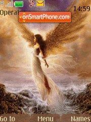 Fantasy Angel theme screenshot