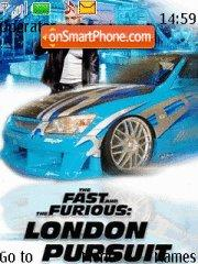 The Fast And The Furious 4 London Pursuit theme screenshot