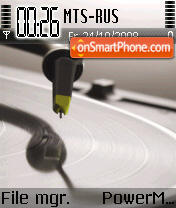 Music 5303 tema screenshot