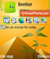 Piramids 01 theme screenshot