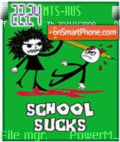 School Sucks es el tema de pantalla
