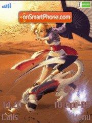 Temari 01 es el tema de pantalla