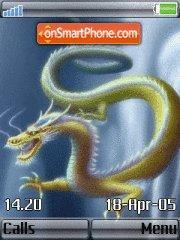 Sky Dragon theme screenshot