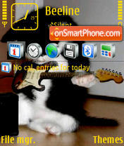 Animal Music theme screenshot