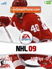 Nhl 09 V2 es el tema de pantalla