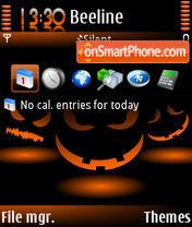 Скриншот темы Halloween v2
