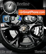 Lamborghini Gallardo 05 theme screenshot