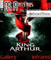 King Arthur tema screenshot